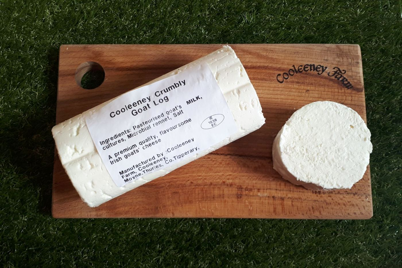 Cooleeney Crumbly goat cheese