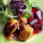 Deep Fried Cooleeney with Beetroot Salad